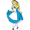 Disney Princesses - Alice - Иллюстрации -