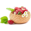 Basket Strawberry - Fruit -