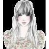 Girl - Illustrations -
