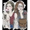 Girls - Ilustracije -