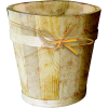 Wooden Bucket - イラスト -