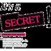 Text - It Is Secret - 插图用文字 -