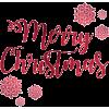 merry christmas - Tekstovi -
