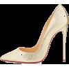 metallic gold heels - Klassische Schuhe -