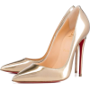 metallic gold heels - Classic shoes & Pumps -