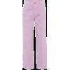 millennial purple pants - Capri hlače -
