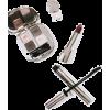 minimal flatlay lipstick mascara - Uncategorized -