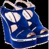 Miu Miu - 厚底鞋 -