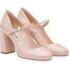 miumiu pink pump - Klasyczne buty -
