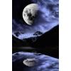 Moon - 背景 -