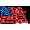 American flag - Illustrazioni -