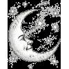 moon and stars illustration - Uncategorized -