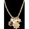 moon sun and star necklace - Ожерелья -