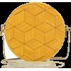 mustard round bag - Hand bag -