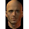 male head - Figure -