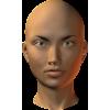 female head - Figure -
