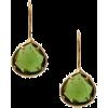 Earrings Green - Earrings -