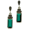Earrings Green - Aretes -
