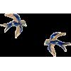 Earrings Blue - Aretes -