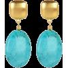 Earrings Blue - Earrings -