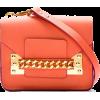 narančasta torba - Torbe z zaponko -