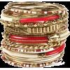 Narukvice Bracelets Red - ブレスレット -
