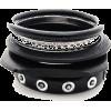 Narukvice Bracelets Black - Armbänder -