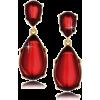 Naušnice Earrings Red - Earrings -