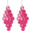 Naušnice Earrings Pink - Earrings -