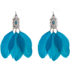 Naušnice Earrings Blue - Earrings -