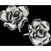 Naušnice Earrings B&W - Kolczyki -