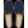 navy espadrille - Flats -