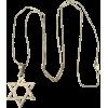 necklace star of David - Ogrlice -