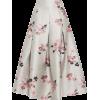 neutral floral embroidered metallic - Krila -