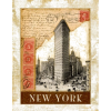 new york poster vintage - Background - $12.00