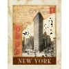 new york poster vintage - 背景 - $12.00  ~ ¥1,351