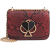 nicola snakeskin embossed leather should - Torbice -