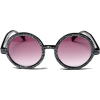 Nina Sunglasses Purple - Sunglasses -
