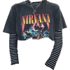 nirvana band - Tシャツ -