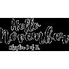 november text - Textos -