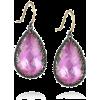 Purple Earrings - Brincos -
