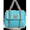 Blue Clutch Bags - Clutch bags -