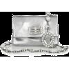 Silver Hand Bag - Carteras -