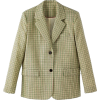 oh L Checked Jacket - 外套 -