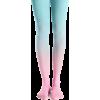 ombre tights pink blue kawaii womens - Uncategorized - $37.90