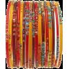 orange bangles - ブレスレット -