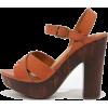 orange sandals - Sandals -