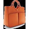 orange bag1 - Hand bag -