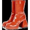orange boots - 靴子 -