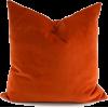 orange burnst velvet cushion home - Uncategorized -